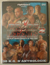 DVD Pride Free fight collector Legends 2 neuf