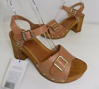 sandali donna us polo assn made in italy shoes sandal pelle marrone u.s.