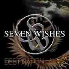 SEVEN Wishes-Destination Alive Swedish Hard Rock CD