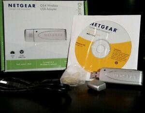 NETGEAR G54 WG111 v3 Wireless USB Adapter in Original Box