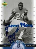 Lenny Moore Autographed Signed 2005 Upper Deck Baltimore Colts Card - HOF 1975