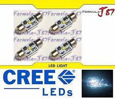 CREE LED Light Canbus Error Free DE3175 3W White 6000K Four Bulbs Dome Map Step