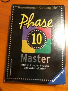 PHASE 10 Master Kartenspiel – das Original – Ravensburger