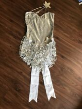 Shooting Star Silver Sequined Outfit S