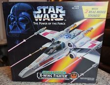 X-Wing Fighter Electronic 1995 STAR WARS Power of the Force POTF MIB