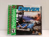 Driver (Sony PlayStation 1, 1999) PS1 COMPLETE GREATEST HITS EDITION FREE SHIPP