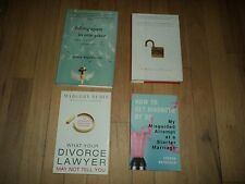 4 Divorce Books Split & Falling Apart & What Divorce Lawyer May Not Tell You