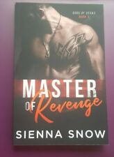 Master of Revenge by Sienna Snow Signed Trade Paperback