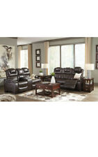 Ashley Furniture Warnerton Power Reclining Sofa and Loveseat Living Room Set