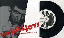 "Killjoys -Studio Demos 18/10/1977 7"" Birmingham Punk Dexys Midnight Runners KBD"