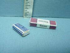 Dollhouse Miniature Cigarette Carton #57038 & Matches #55001 Hudson River 1/12th