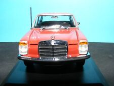 Mercedes Benz 200 1968 in Red with Black Trim Maxichamps 1:43 rd  New item