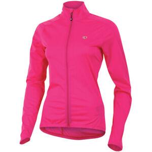 Pearl Izumi Elite Womens Aero Softshell Jacket XS Pink Cycling Running
