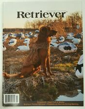 Retriever Journal Snowstorm Buying Trained February March 2016 FREE SHIPPING JB