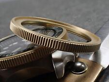 THE . SOFT.COIN .ONE – GOLD MATT C. BEZEL F.SEIKO SKX007 7S26-0200 CASE DX-15-G