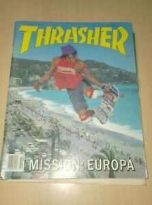 magazine thrasher october 1987  used ..N + skateboarder mag october 03 ---pack 2