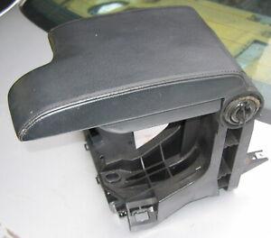BMW E46 3 series Black Leather Front Armrest.  51168238226