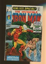 Iron Man Annual 1 FN 6.0 * 1 Book Lot * Titanium Man! Sub-Mariner! Don Heck!