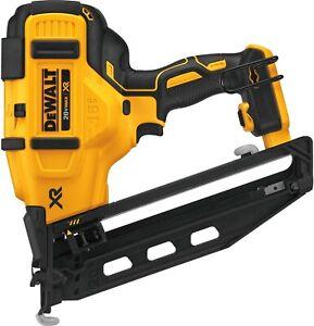 Dewalt DCN660B 20V MAX XR 16 GA 20-Deg Angled Cordless Finish Nailer - Tool Only