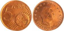 Luxemburg 5 Cent 2004 Fehlprägung auf 2 Cent geprägt vz-st