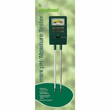1817 Mini Soil PH/Moisture Meter