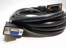 15ft VGA SVGA Male to Female M/F Extension Cable Cord for Monitor