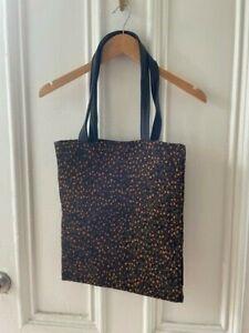 Raf Simons x Kvadrat Tote Bag - Black/Orange/Green RIA Fabric