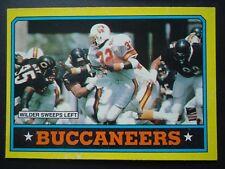 NFL 372 Team Leaders Tampa Bay Buccaneers Topps # 1986