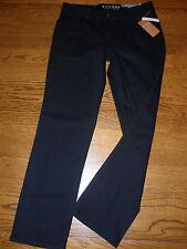 NWT Black Stretch Jeans, sz 4P, SONOMA, $40, MID RISE STRAIGHT LEG PANTS