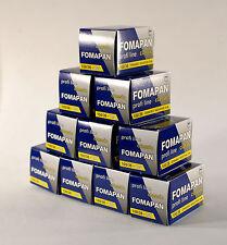 Fomapan 100 ASA 135 36exp Pack Of  Ten