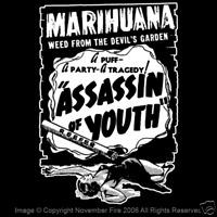 Assassin of Youth Marijuana Dispensary 420 Cannabis Weed Campy Film Shirt NFT327