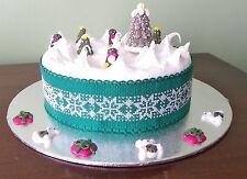 Schneeflocke Weihnachtskuchen Band Kreuzstich Kit florashell