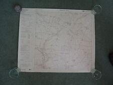 "Ordnance Survey 6"" map SM92NE Dyfed 1980 Wolf's Castle, Little Newcastle"