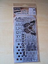 TIM HOLTZ COLLECTION-STAMPERS ANONYMOUS-STAMPS/STENCIL-PERSPECTIVE-LGE BUTTERFLY