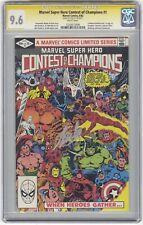 Marvel Super Hero Contest of Champions #1 CGC 9.6 Signature Series Stan Lee