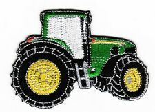 IRON ON PATCH - GREEN TRACTOR FARMING AGRICULTURE FARMER FARM COUNTRY