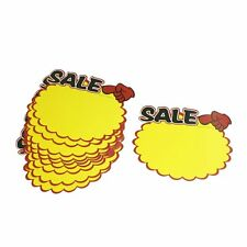 Supermarket Sale Promotion Advertising Sign Price Tags POP Paper 10 Pcs T1