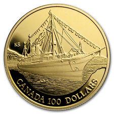 1991 Canada 1/4 oz Proof Gold $100 Empress of India - SKU#14284