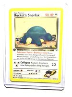 ROCKET'S SNORLAX - 1st Edition Gym Heroes  - 33/132 - Rare - Pokemon - NM