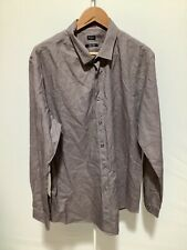 Mens Paul Smith Size 17.5/44 Multicoloured Button Up Long Sleeved Shirt