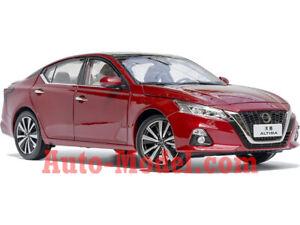 1:18 Dongfeng Nissan 2019 Altima Scarlet Ember Tintcoat Dealer Edition