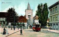 Ansichtskarten vor 1914 aus Thüringen mit dem Thema Straßenbahn