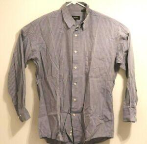 BOSS Hugo Boss Mens Striped Button Down Shirt SZ 15 1/2 32/33