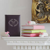 Leather 'One Line A Day Diary' Memory Book, 5 Year Diary, Leather Diary (15E2)