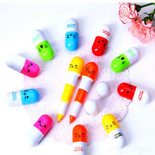 Korean-style Cute Telescopic Ball Pens  Kawaii Capsule Lovely Design Smilies