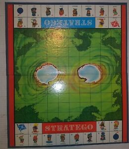 Vintage 1961 Stratego Replacement Board