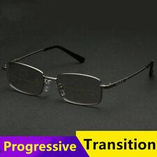 Anti blue light Transition Multifocal Progressive Photochromic Reading glasses