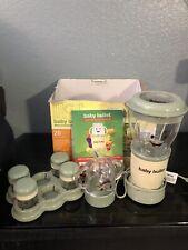 Baby Bullet Magic Bullet Blender Baby Food Processor Making System Set 9 Pieces
