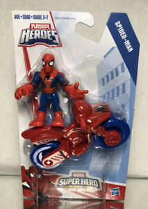 PLAYSKOOL HEROES MARVEL SUPER HERO ADVENTURES: SPIDER-MAN/ NEW ON CARD