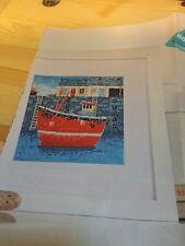 Simon Hart's Pintura De Rojo arrastrero-cross stitch chart-Brisa Del Mar